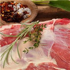 Certified Organic Lamb Shoulder Whole Trimmed