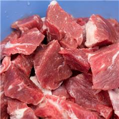 Certified Organic Lamb Diced On Bone