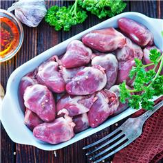 Frozen Free-Range Chicken Heart