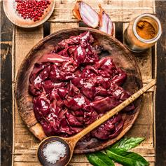 Frozen Free-Range Chicken Livers