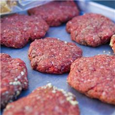 Gluten Free Lamb Sea Salt and Black Pepper Burger