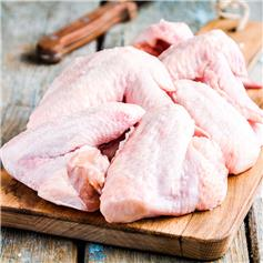 Frozen Free-Range Chicken Wings (500g)